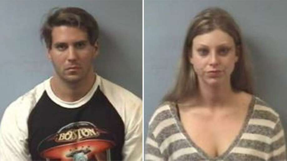 Kayla Marisa Seloff, 22, and Joshua Gene Leal, 27, were charged with criminal trespass by Friendswood police after they were discovered early Saturday morning, Aug. 20, 2016, inside a home that Seloff had just sold in the area. Keep clicking to see some of the strangest and wildest stories to come out of Texas. Photo: Friendswood Police Department