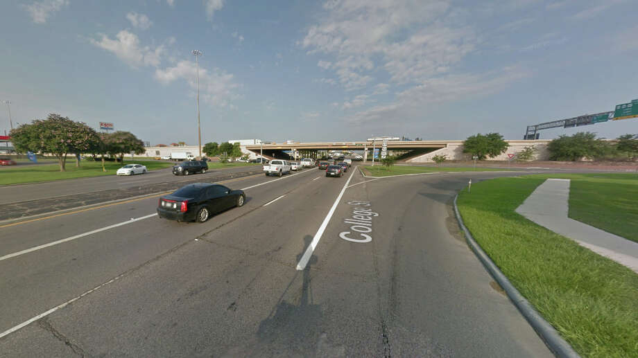 College Street at Interstate 10 Crashes (2012-15): 165Injuries (2012-15): 83Deaths (2012-15): 0 Photo: Google Maps