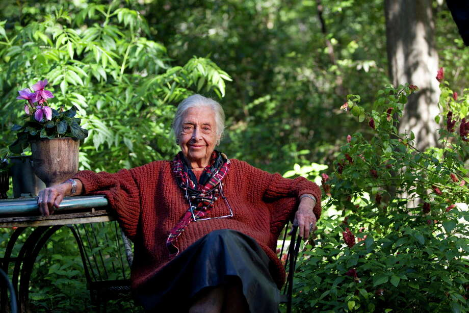 Portrait of Terry Hershey, 90, at her home Wednesday, Oct. 23, 2013, in Houston. 