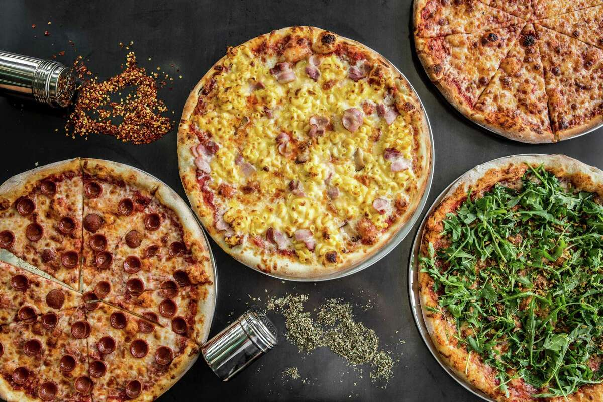 An assortment of Pi Pizza pies. The new Pi Pizza shop is set to open soon at 181 Heights.