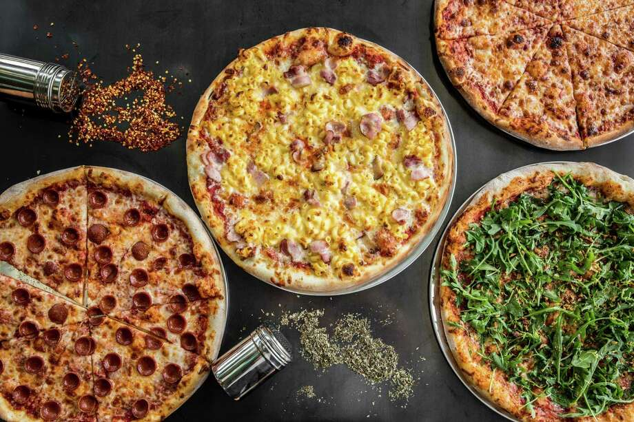 An assortment of Pi Pizza pies. The new Pi Pizza shop is set to open soon at 181 Heights. Photo: Julie Soefer / Julie Soefer Photography