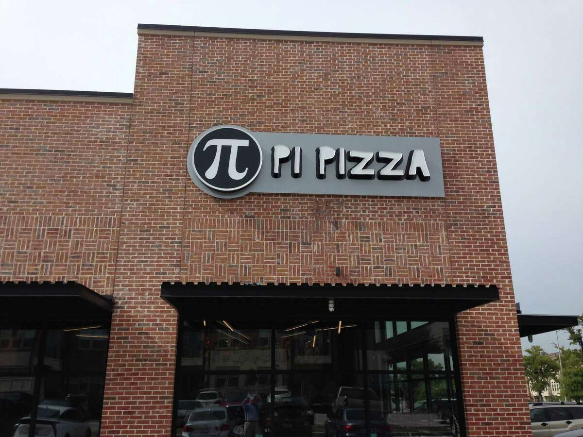 Exterior of Pi Pizza, a new pizza restaurant opening soon at 181 Heights.