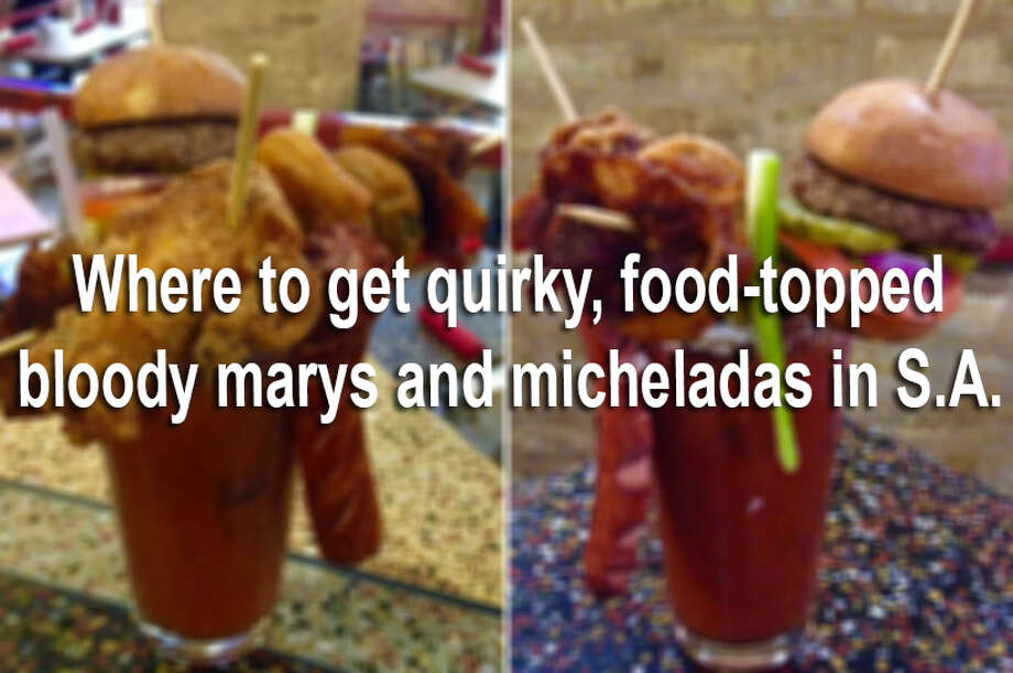 These bloody marys and micheladas include brisket, sausage and more puro ingredients only San Antonians could handle.Keep clicking to see where to get artistic, delicious and totally photo-worthy bloody marys and micheladas  around the Alamo City. Photo: Julie Cohen/San Antonio Express-News