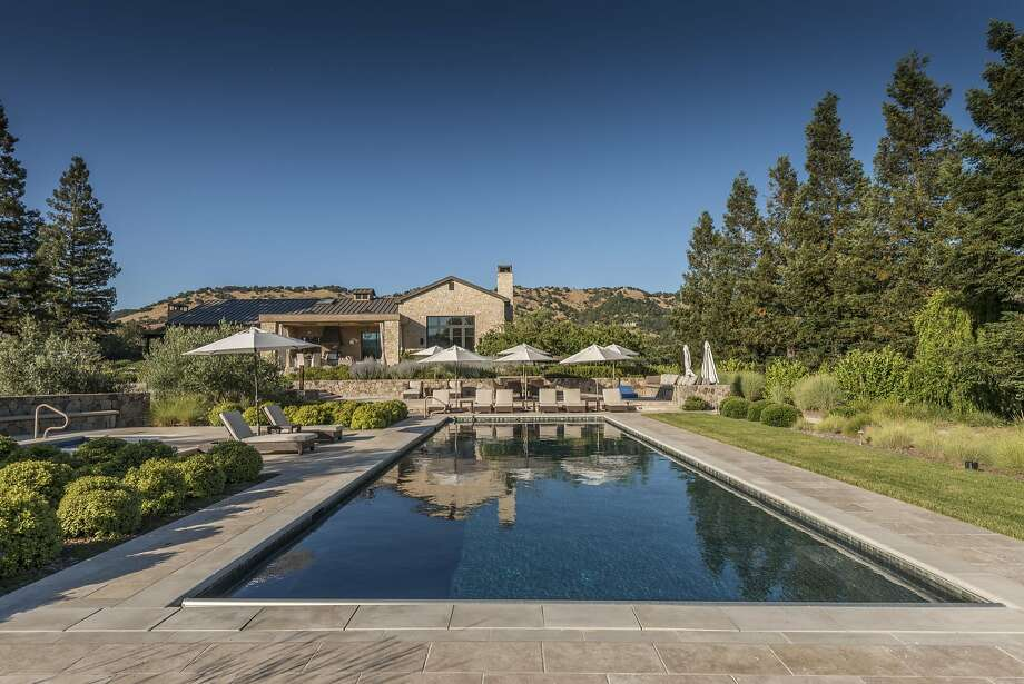 1095 State Lane in Yountville is a five-bedroom estate home set on 11 acres available for $12.5 million. Photo: Paul Rollins Photography