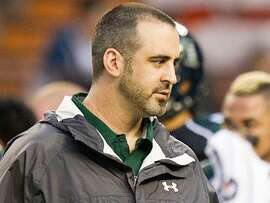 Bay-Area native Nick Rolovich was hired as Hawaii's head coach in November.