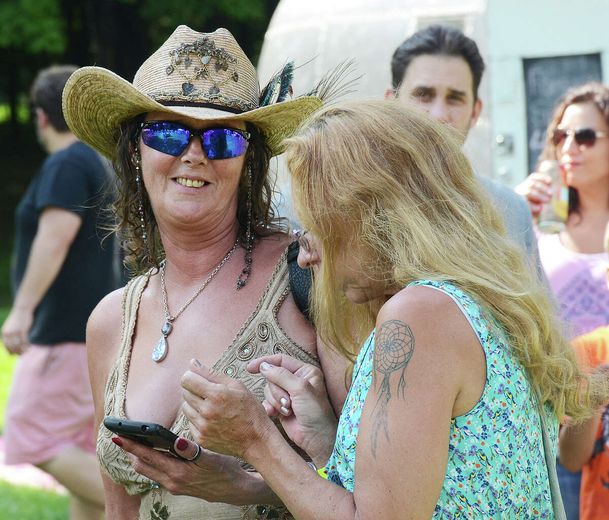 Scenes from the second annual Forever Grateful Music Festival at the Ives Concert Center in Danbury on August 20, 2016. Over 10 bands performed on two stages celebrating the music of The Grateful Dead, Allman Brothers, Bob Marley, and more. Festival goers enjoyed food, exhibitors and dancing.