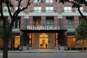 Hines' Galleria-area apartment complex WaterWall Place is for sale.