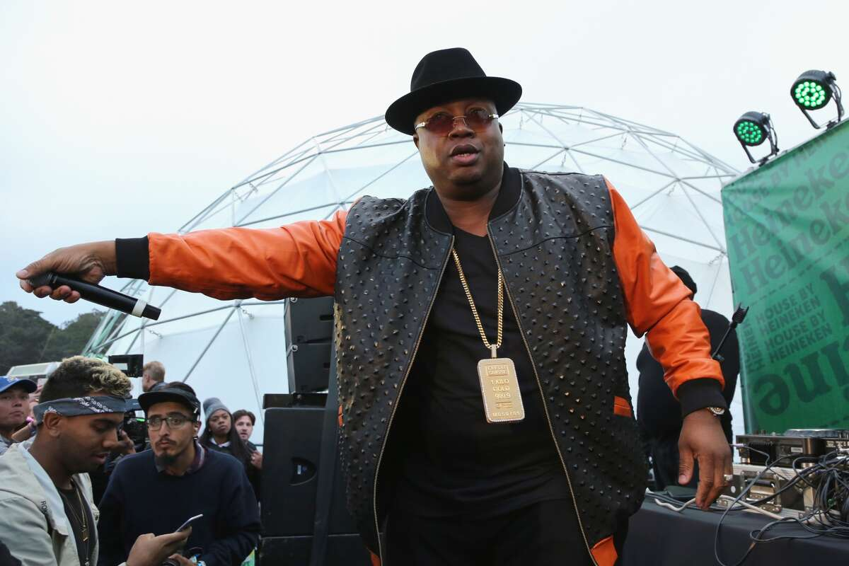SAN FRANCISCO, CA - AUGUST 06: E-40 performs at the Heineken House at Outside Lands 2016 at Golden Gate Park on August 6, 2016 in San Francisco, California. (Photo by FilmMagic/FilmMagic)