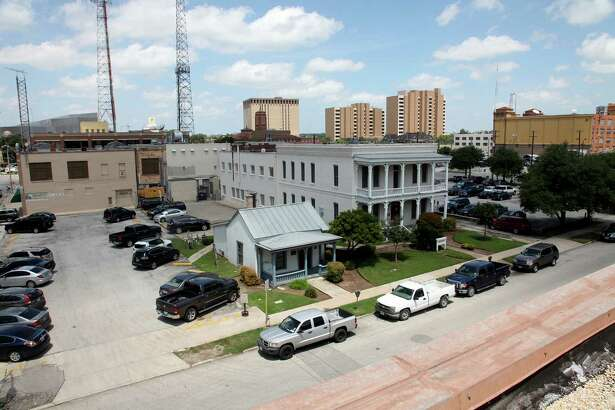 GrayStreet Partners has bought this 1.1-acre property at the corner of 4th and Alamo streets from Hearst, county property records show. The property includes two historic buildings and two parking lots.