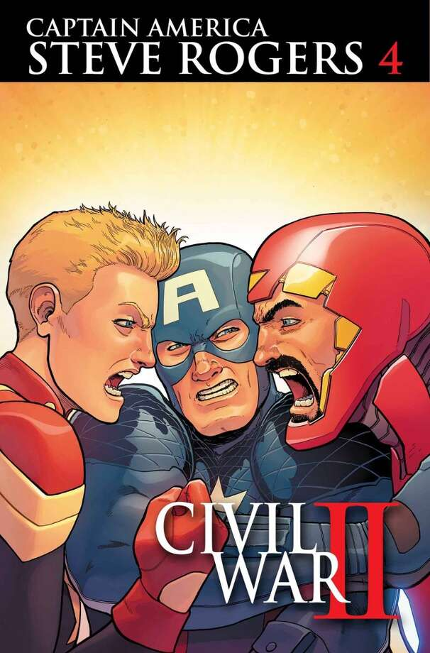 Writer: Nick Spencer   Art: Javier Pina   Cover: Aaron Kuder   Cover Price: $3.99   CIVIL WAR II TIE-IN! With war on the horizon, Steve attempts to broker a truce between Iron Man and Captain Marvel.