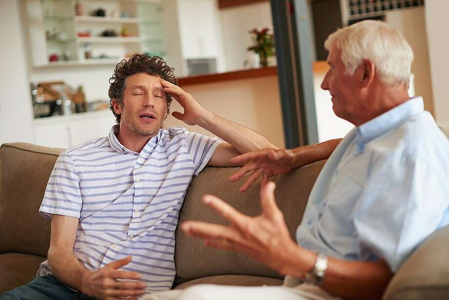 A son is upset that his dad is dating his ex-wife. Photo: Laflor, Getty Images