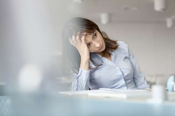A stressed out worker is pictured in this Getty stock image. (Caiaimage/Agnieszka Wozniak)