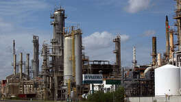 The Valero refinery in Three Rivers refines processes a lot of oil from the Eagle Ford Shale. The terminal at the refinery, which has 2.25 million barrels of capacity, is part of a $325 million deal between Valero Energy Partners LP and a subsidiary of Valero Energy Corp.
