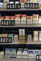 Connecticut's cigarette tax will rise to $3.90 a pack Friday, the second-highest nationally behind New York's, as the final step of a phased-in 50-cent increase passed last year. Photos taken at Butthead's Tobacco Emporium, 5 Padanaram Rd. Photo Thursday, June 30, 2016.