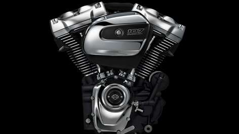 The all-new Harley-Davidson Milwaukee-Eight engine, ninth in the lineage of the company's iconic Big Twin engines, delivers more power and an improved motorcycling experience for riders and passengers while retaining the iconic look, sound and feel of its predecessors. An all-new design, the Milwaukee-Eight engine offers quicker throttle response, more passing power, purer sound, a smoother ride and more of the feeling riders want from a Harley-Davidson Touring motorcycle engine.