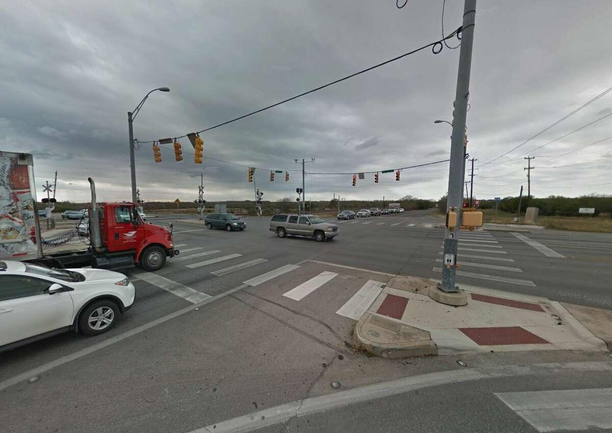 24. Gibbs Sprawl Road at Walzem Road: 66 crashesDanger score: 168 Injuries: 34 Deaths: 0