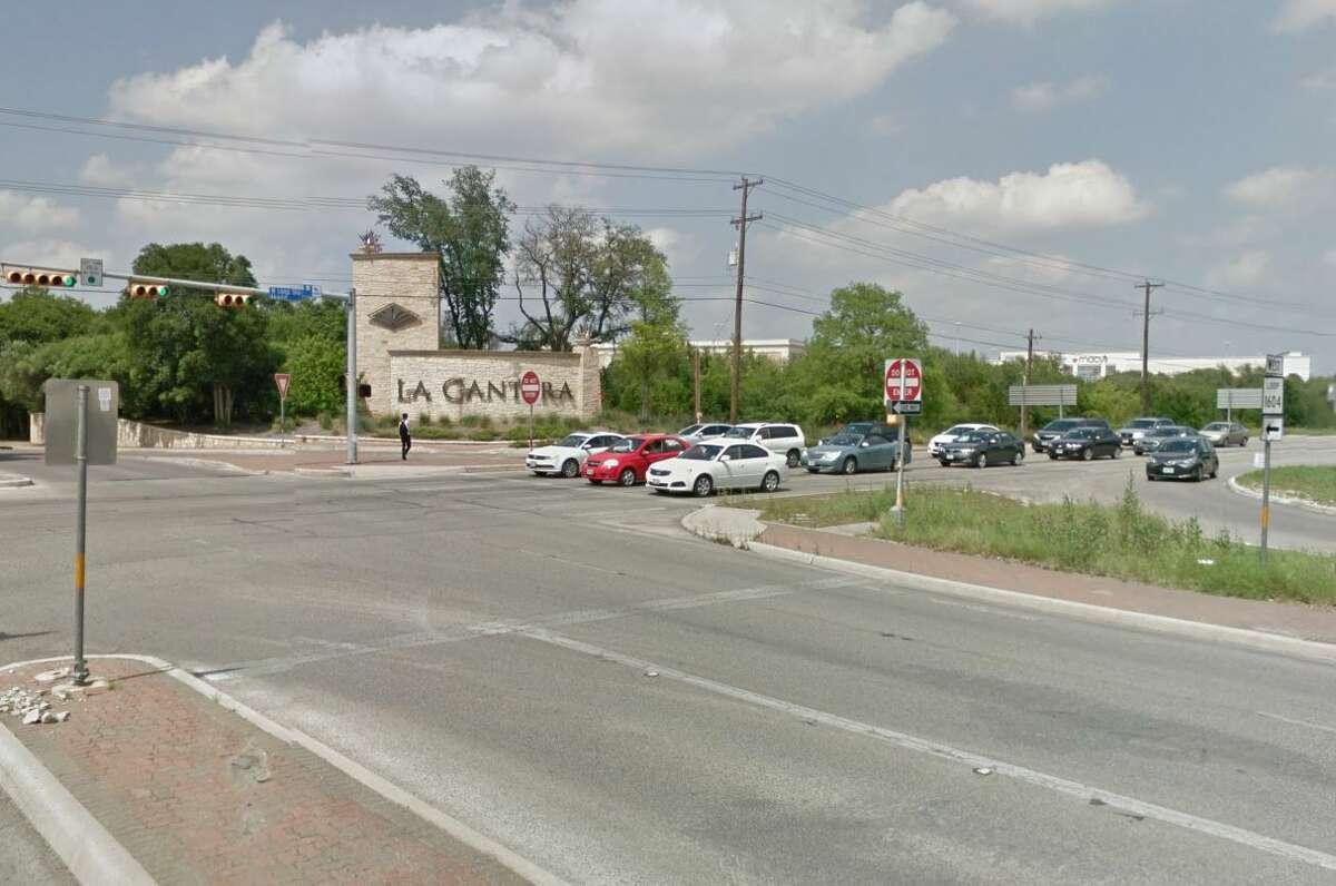 25. La Cantera Parkway at Loop 1604: 63 crashesDanger score: 114 Injuries: 17 Deaths: 0