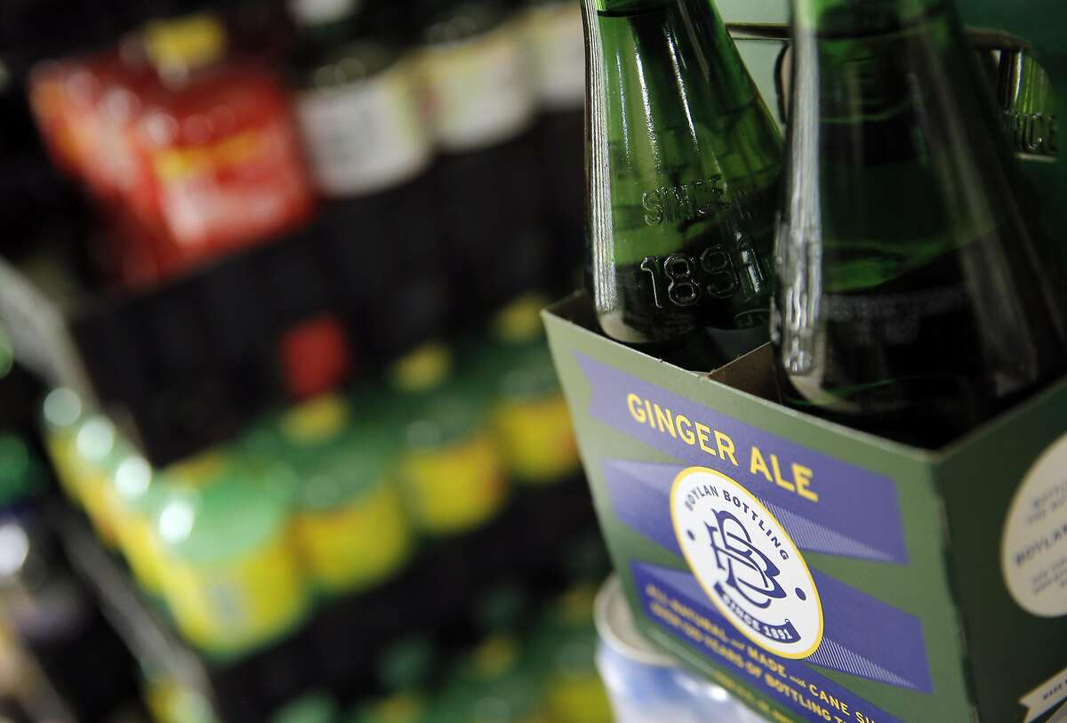 Ginger Ale is one drink product stored at South Berkeley Meat & Produce store in Berkeley, Calif., on Monday, August 22, 2016. A new UC-Berkeley study shows that Berkeley's first-of-its-kind-in-the-nation tax on sodas and other sugary drinks has led to a drop in soda consumption in the city's most low-income neighborhoods.