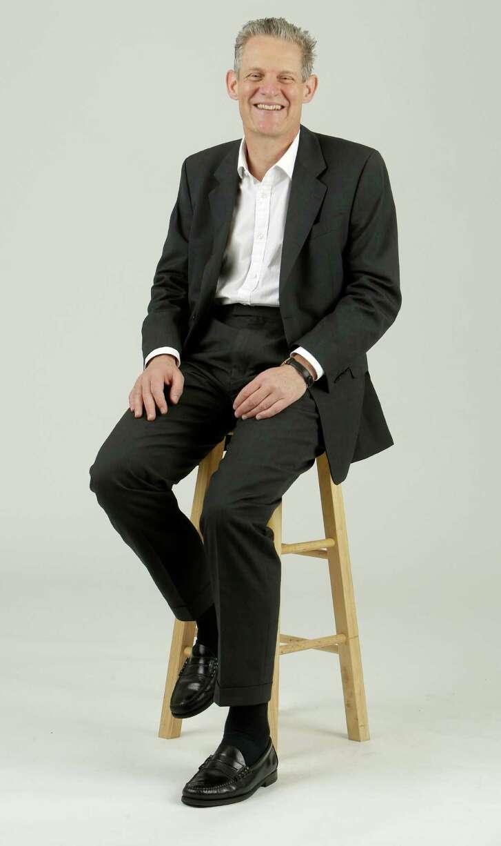 Spencer Dale, BP's group chief economist, is shown Friday, June 17, 2016, in Houston.  ( Melissa Phillip / Houston Chronicle )