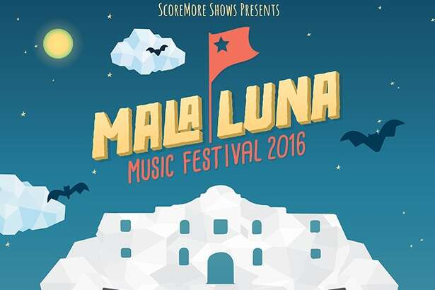 The final Mala Luna Music Festival poster