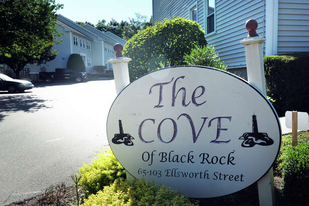 The Cove condominiums in the Black Rock section of Bridgeport, pictured on Tuesday