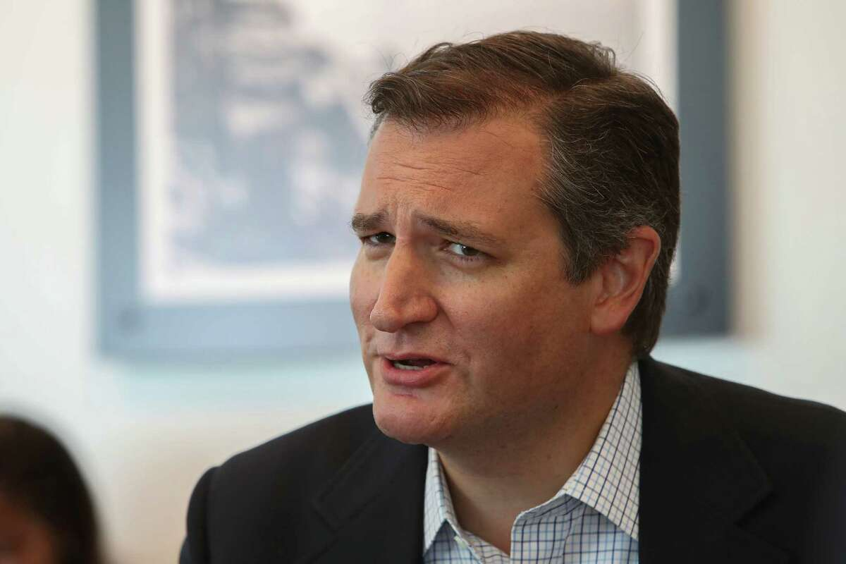 Sen. Ted Cruz is ok, but we don't like talking about...