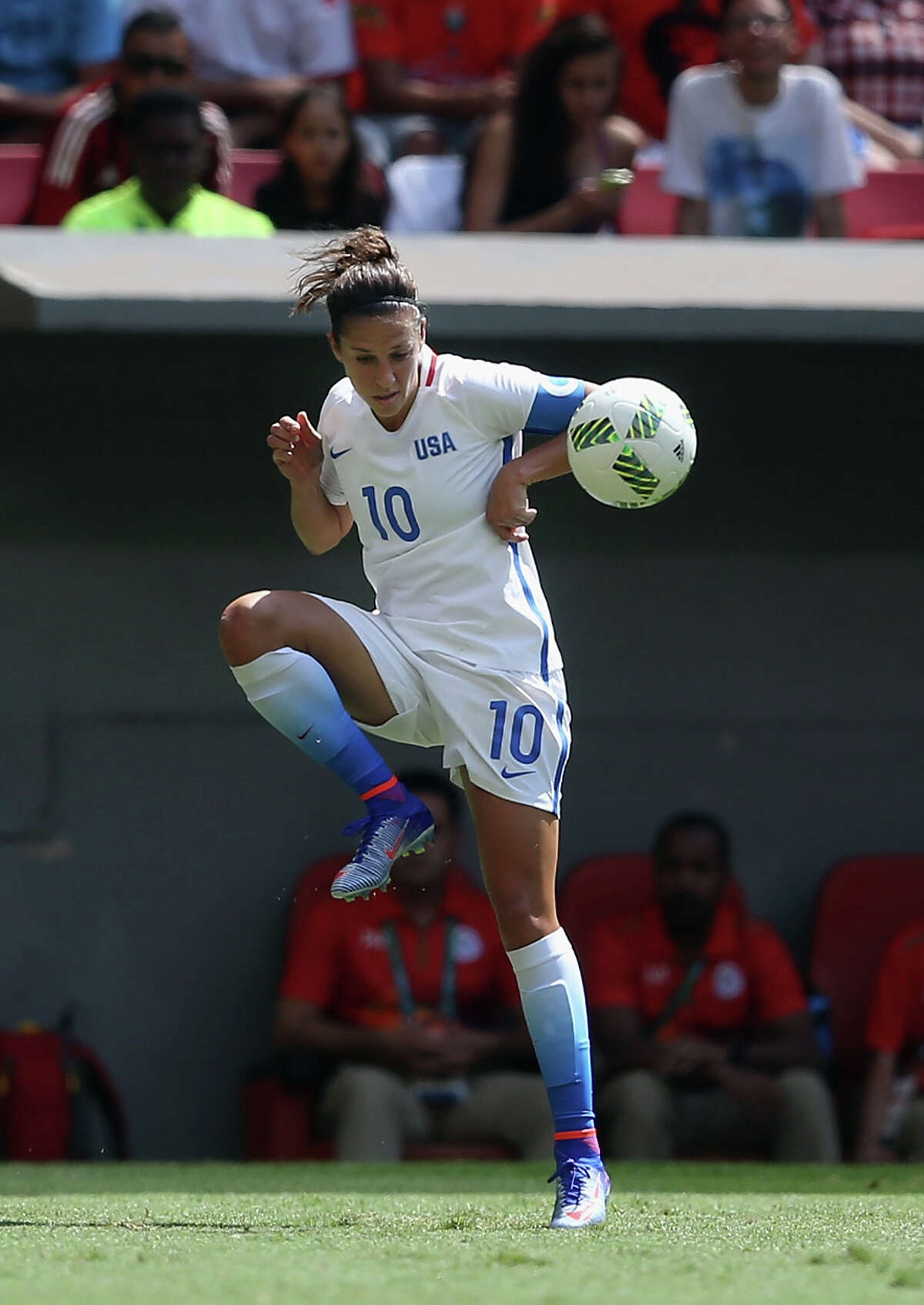 Carli Lloyd is back with the Dash after playing for the U.S. in the Olympics.