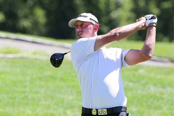 Greenwich's Danny Balin shot a 1-over 71 on Tuesday, August 23, 2016 during Day 2 of the 101st Met Open at Glen Oaks Club in Old Westbury, N.Y.