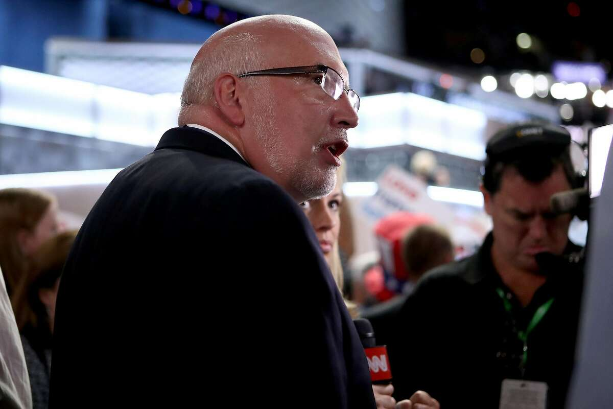 PHILADELPHIA, PA - JULY 25: Former campaign manager of US senator Bernie Sanders, Jeff Weaver attends the first day of the Democratic National Convention at the Wells Fargo Center, July 25, 2016 in Philadelphia, Pennsylvania. An estimated 50,000 people are expected in Philadelphia, including hundreds of protesters and members of the media. The four-day Democratic National Convention kicked off July 25. (Photo by Jessica Kourkounis/Getty Images)