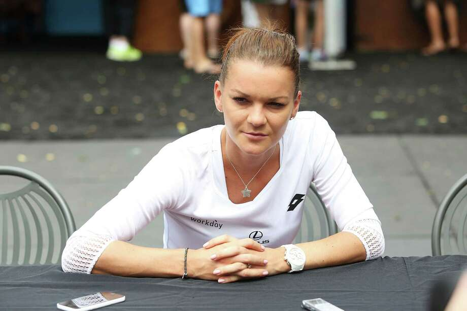 Radwanska Photo: Adam Glanzman / Getty Images / 2016 Getty Images
