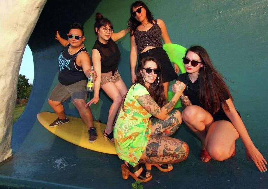 San Antonio indie, all-female band Topo Chica. Photo: Courtesy Photo