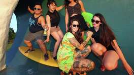 San Antonio indie, all-female band Topo Chica.