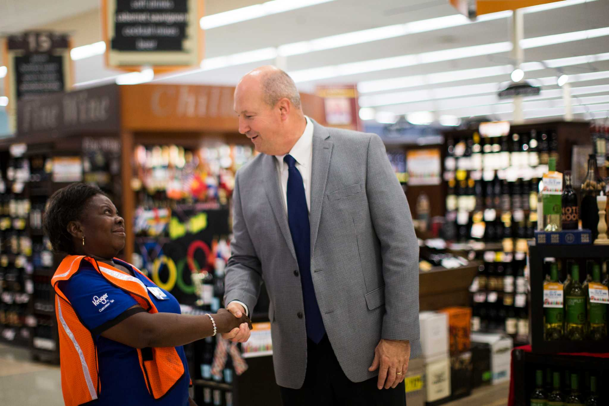 Local division president wraps up 44-year Kroger career -  HoustonChronicle.com