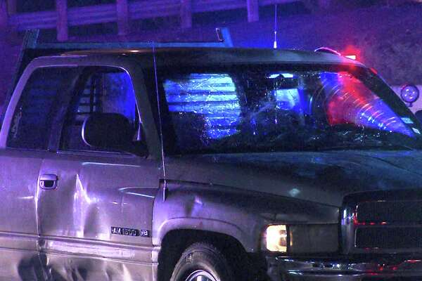 Bexar County deputies were involved in a high-speed pursuit with a pickup on Aug. 24, 2016.