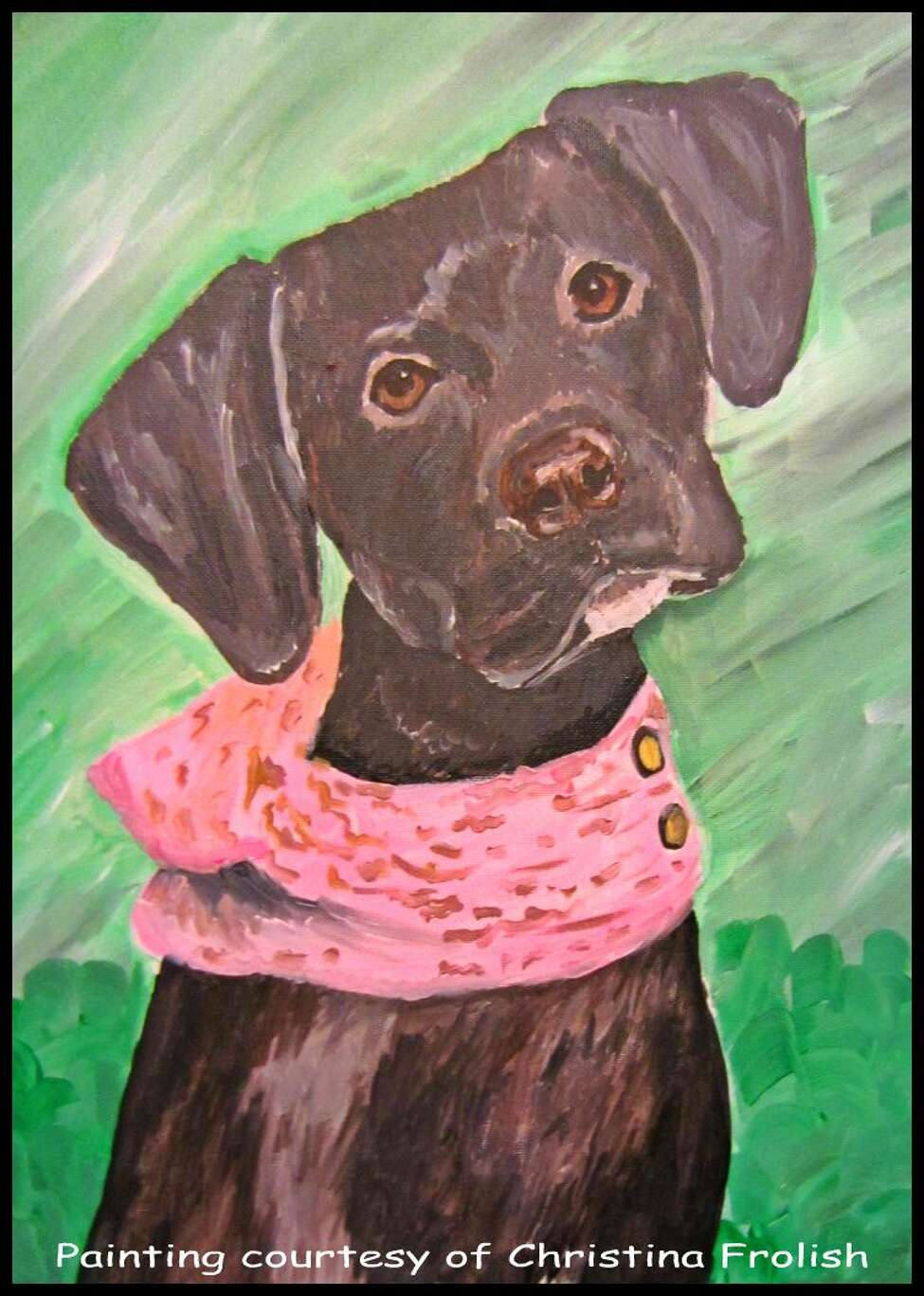Paint Your Pet. Come paint and party at Saratoga Paint and Sip Studio. A local artist will walk you through the painting while you sip on beer or wine from our in-studio bar. Send in photos of your pet in jpeg format to info@saratogapaintandsip.com.Reserve your seat by visiting the website or calling the studio.When: Friday, August 26, 7 - 9 PM. Where: Saratoga Paint and Sip Studio, Route 9, Newton Plaza, Latham.