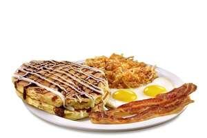 Denny's Sticky Bun Pancakes