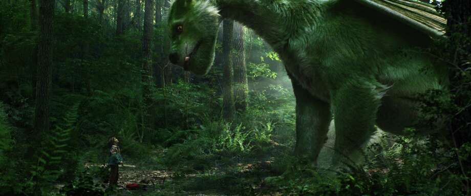 """Disney's """"Pete's Dragon"""" is the story of Pete and his best friend Elliott, who just happens to be a dragon. Photo: PETE'S DRAGON / (c) 2016 Disney Enterprises inc.  All Rights Reserved."""