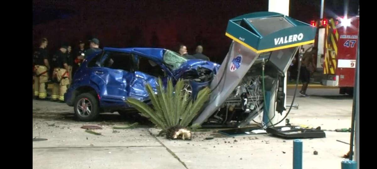19. South Post Oak Road Non-fatal accidents: 368