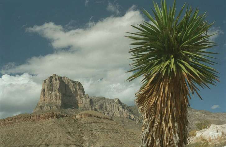 The El Capitan formation stands as a famous landmark in the Guadalupe Mountains National Park.