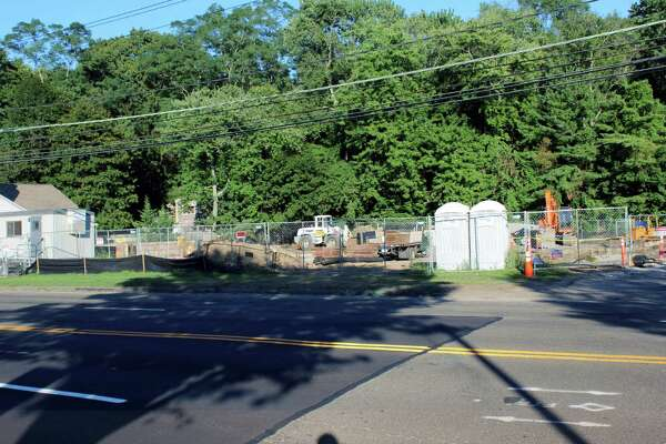The future site of Shake Shack, 1340 Post Road, Darien, Conn., on Aug. 23, 2016.