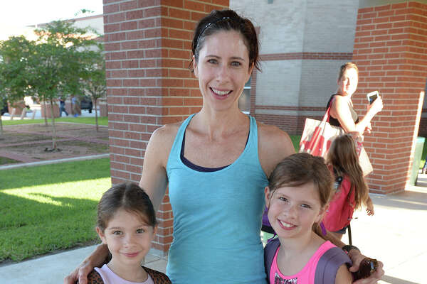 From left, Samantha Phillips, Stephanie Phillips, Benjamin Phillips, and Kendall Phillips at the first day of school at Regina-Howell Elementary on Wednesday. Photo taken Wednesday, August 24, 2016 Guiseppe Barranco/The Enterprise