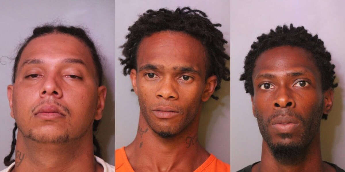 Andrew Warner, Gary Gray and Joshua Ellington have been charged in the death of Adam Hilarie.