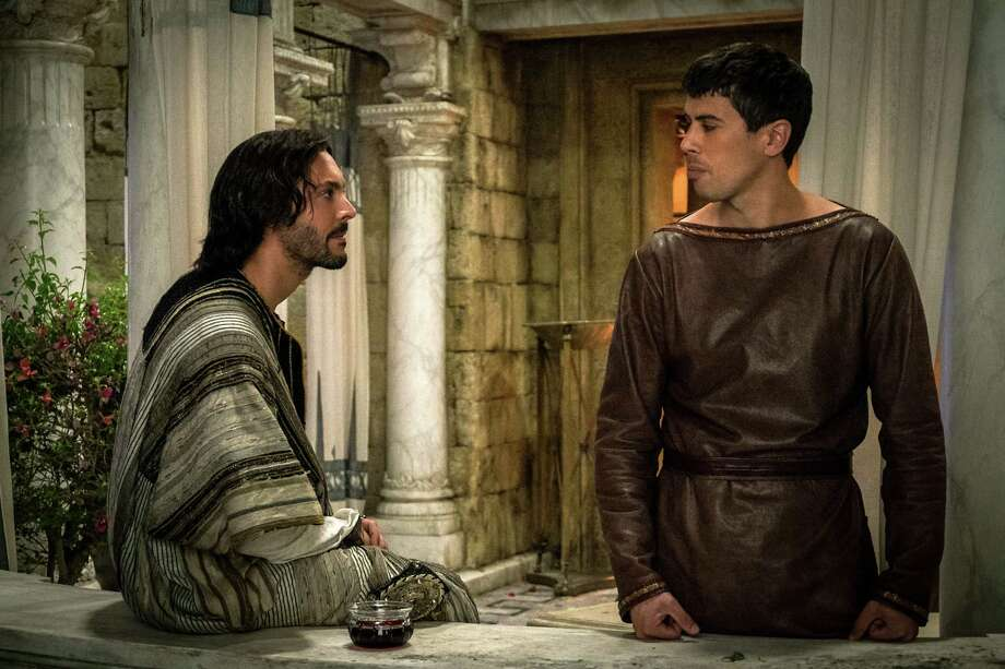 """Jack Huston as Judah Ben-Hur (left) and Toby Kebbell as Messala Severus are seen in a scene from """"Ben-Hur."""" Hollywood's blockbuster machine frequently stalled this summer, leaving behind a steady trail of misbegotten reboots, ill-conceived sequels and questionable remakes. Last weekend's dismal opening of the big-budget """"Ben-Hur"""" may have cost Paramount $100 million and could signal an end to the resurrection of the Bible epic. Photo: Paramount Pictures / Paramount Pictures"""