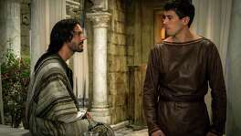 "Jack Huston as Judah Ben-Hur (left) and Toby Kebbell as Messala Severus are seen in a scene from ""Ben-Hur."" Hollywood's blockbuster machine frequently stalled this summer, leaving behind a steady trail of misbegotten reboots, ill-conceived sequels and questionable remakes. Last weekend's dismal opening of the big-budget ""Ben-Hur"" may have cost Paramount $100 million and could signal an end to the resurrection of the Bible epic."