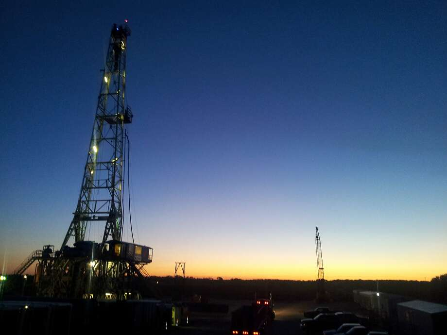 Sanchez Energy's Prost A1H well in Fayette County, in the Eagle Ford Shale Photo: Sanchez Energy