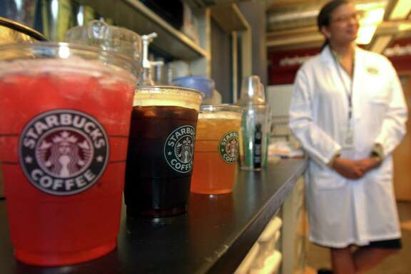 """U.S. District Judge Percy Anderson dismissed a lawsuit that argued Starbucks misled customers about the size of its iced drinks because it lists their sizes as the total liquid volume of drink and ice, not just the beverage itself. The judge said a """"reasonable consumer"""" would know that the stated ounces for an iced drink contain ice."""
