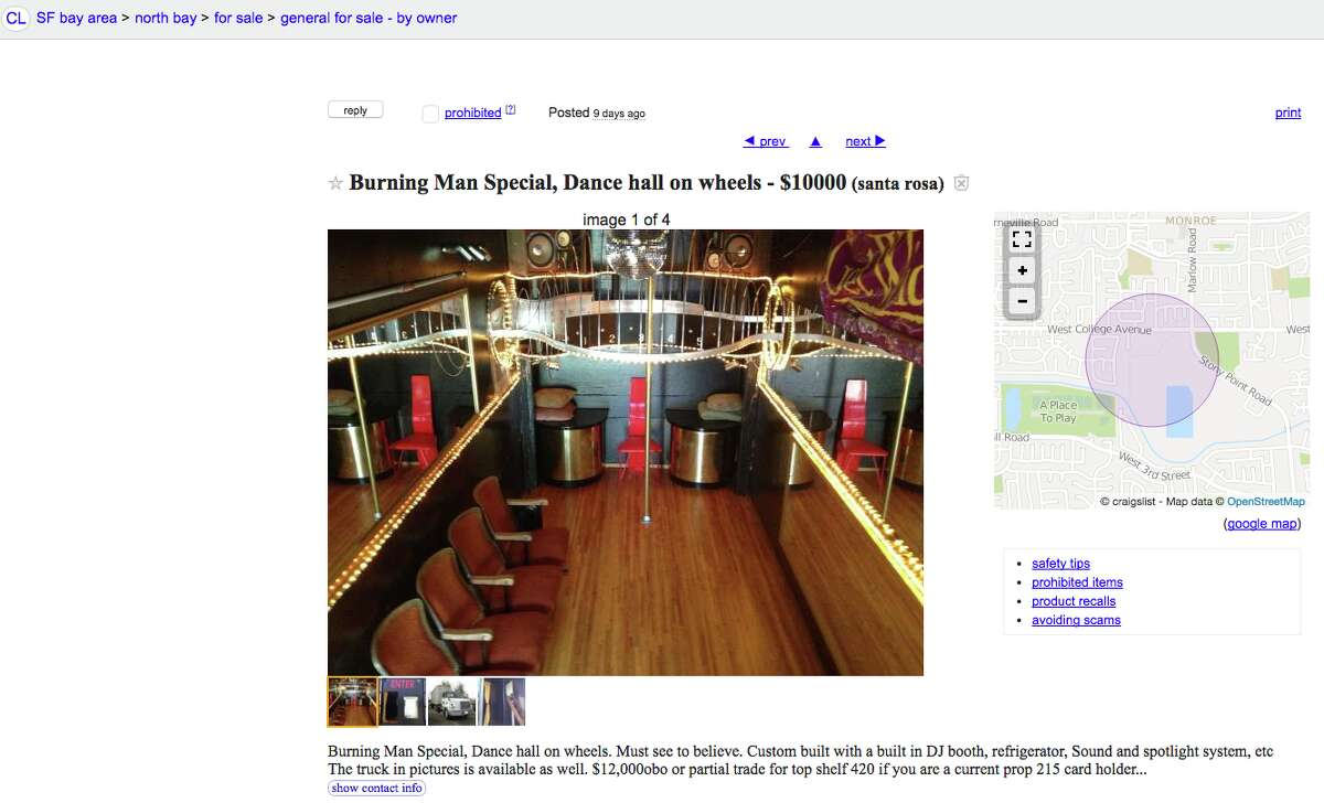 Looking for a semi-truck converted into a $10,000 dance hall? Look no further.