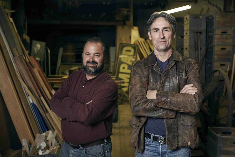 Mike Wolfe, Frank Fritz and their team are returning to Connecticut with plans to film episodes of the hit series American Pickers for its upcoming season. Photo: Zachary Maxwell Stertz/Cineflix