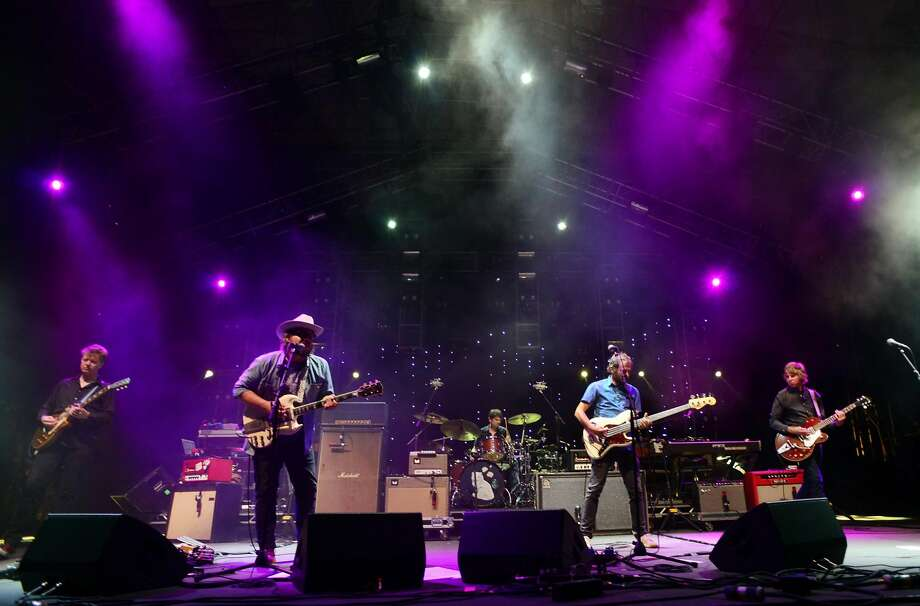 Wilco performs at the 20th Annual Gathering of the Vibes at Seaside Park in Bridgeport, Conn., on Saturday August 1, 2015. Photo: Christian Abraham, Hearst Connecticut Media