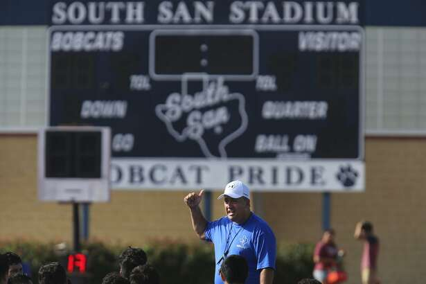 South San High School football coach Ronald Kretz said he wants to create a bowl game atmosphere around the Sept. 2 game with Harlandale. The winner of the Olympia Trophy Plus Bowl will receive a trophy.